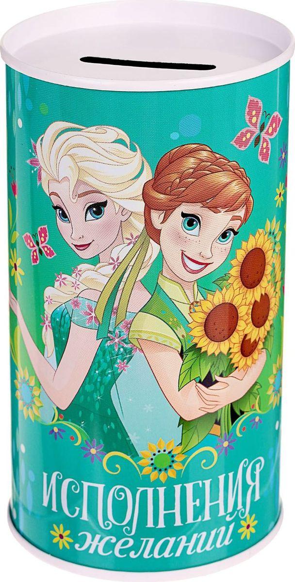 Копилка Disney Исполнения желаний. Холодное сердце, 6,5 х 6,5 х 12 см1866967Копилки Disney со знаменитыми персонажами обязательно понравятся ребенку!Данное изделие изготовлено из легкого металла и весит всего 61 грамм. Изображение нанесено краской.Высота - 12 см, диаметр - 6,5 см.Обращаем ваше внимание, что копилка является одноразовой.