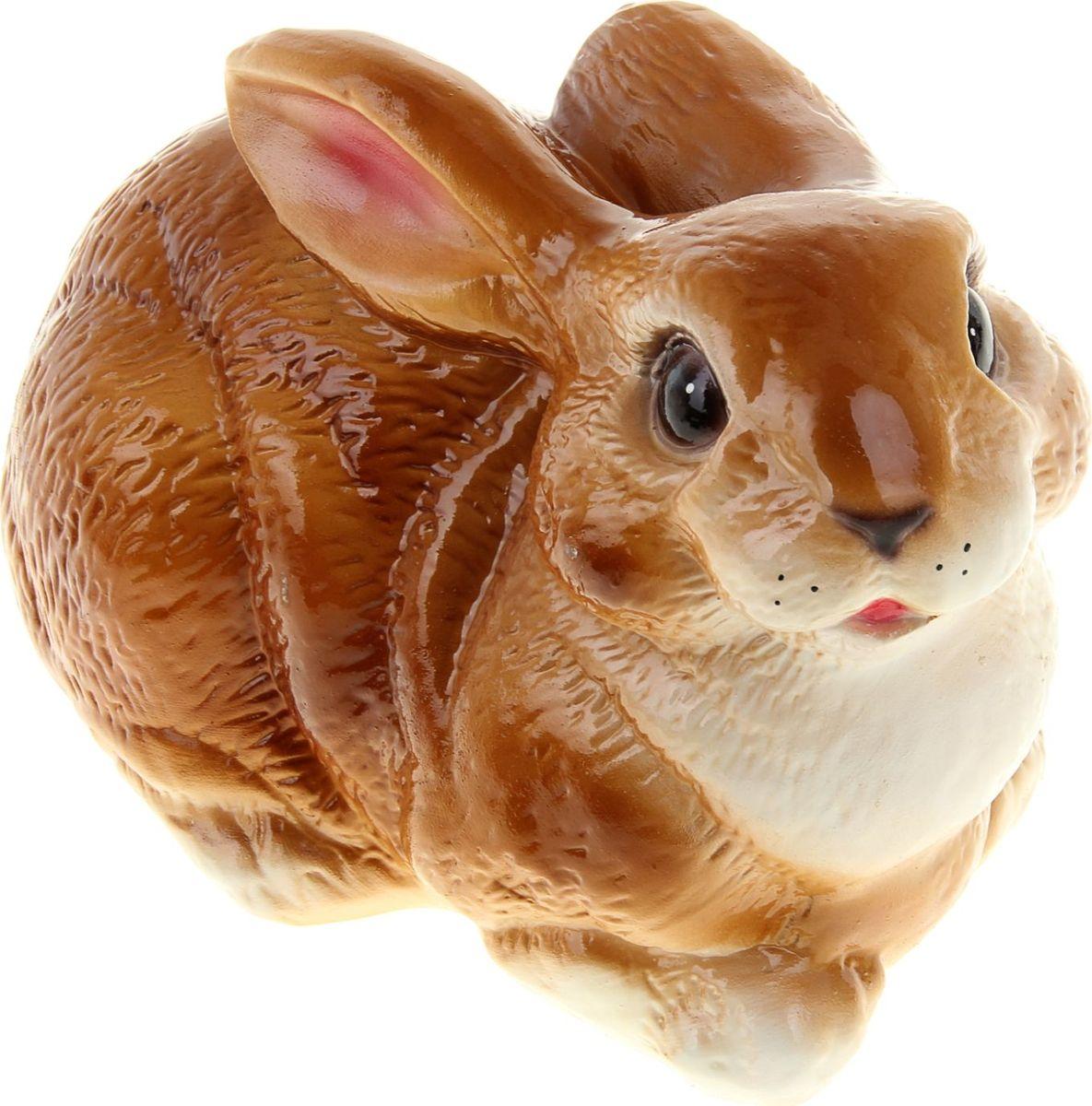 Копилка Керамика ручной работы Заяц, 27 х 16 х 18 см884501Копилка в виде зайца поможет сберечь финансы будущим родителям, а также притянет удачу в дом молодой семьи. Это животное символизирует плодовитость, возрождение и даже магическую силу. Копилка — подарок, который можно сделать на свадьбу, её годовщину или паре, которая хочет завести ребёнка.Обращаем ваше внимание, что копилка является одноразовой.