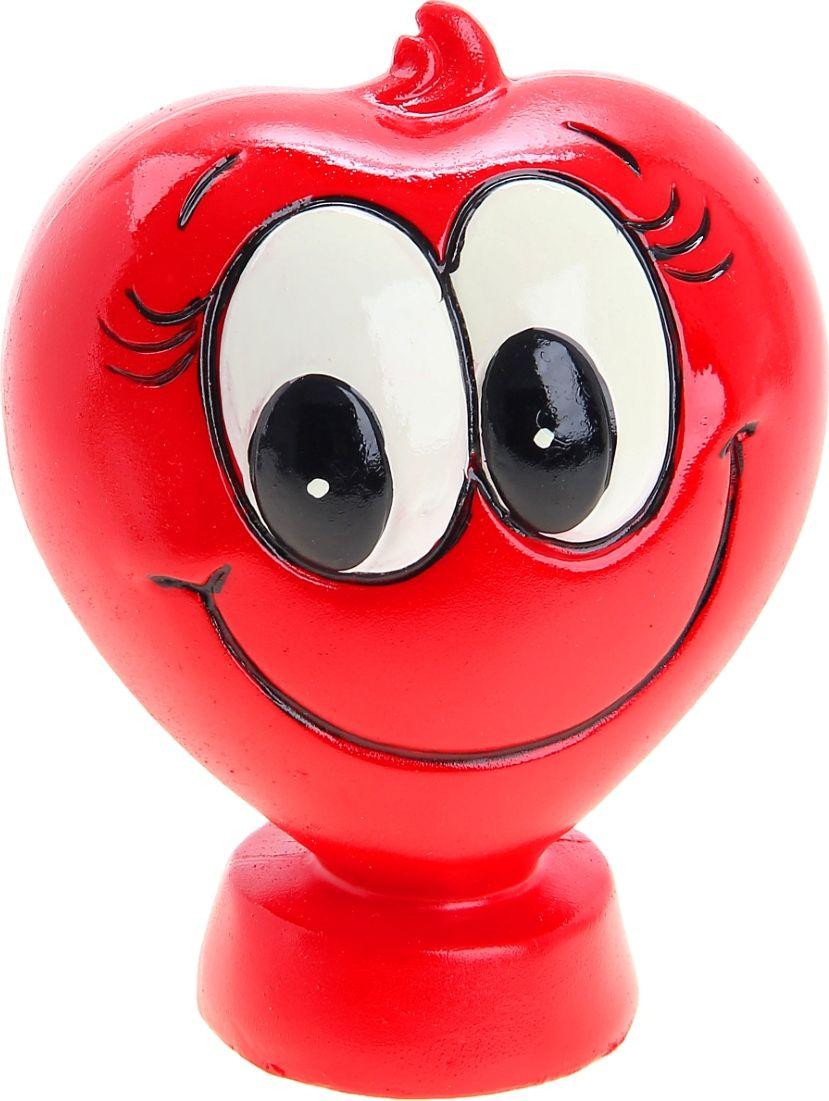Копилка Искренняя улыбка, 8,2 х 11 х 13 см906954Копилка Искренняя улыбка – замечательный способ порадовать любимого человека как в День Святого Валентина, так и в будний день, если у вас возникнет желание превратить его в необычный. Оригинальная копилка станет знаком заботы и внимания, а также – пожеланием материального благополучия и процветания.Недаром с давних времен известна поговорка Копейка рубль бережет. Кто знает – быть может, именно эта милая копилка станет первым шагом на пути к осуществлению заветной мечты – крупной покупки или, например, кругосветного путешествия? Радовать любимых просто!Копилка является многоразовой, что позволит вам воспользоваться накопленными деньгами в любой момент.
