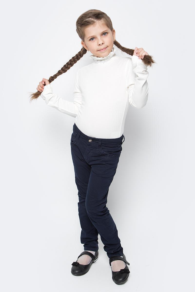 Блузка для девочки Free Age, цвет: молочный. ZG 28076-V2. Размер 122, 6 лет