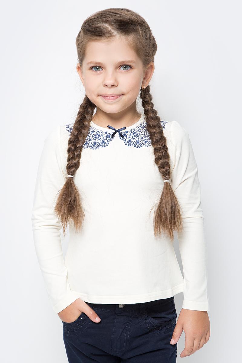 Блузка для девочки Nota Bene, цвет: молочный. CJR27029_17. Размер 152 блузка для девочки nota bene цвет молочный aw15gs150a 1 размер 122
