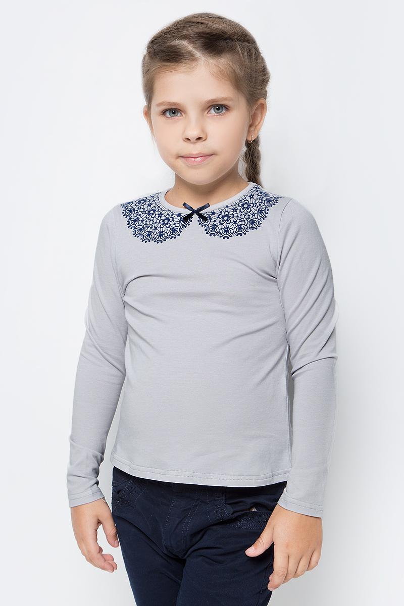 Блузка для девочки Nota Bene, цвет: серый. CJR27029_20. Размер 152