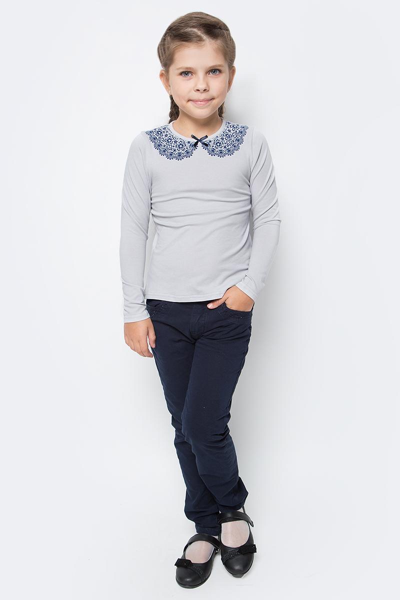 Блузка для девочки Nota Bene, цвет: серый. CJR27029A20. Размер 122 платье tutto bene tutto bene tu009ewzwn18