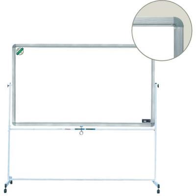 Доска магнитно-маркерная Index, вращающаяся, на колесиках, 60 см x 90 см brauberg доска пробковая 60 х 90 см