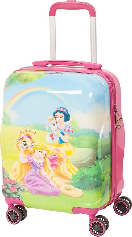 Чемодан детский Sun Voyage Disney. Princess, 33 л чемодан samsonite чемодан 80 см pro dlx 4