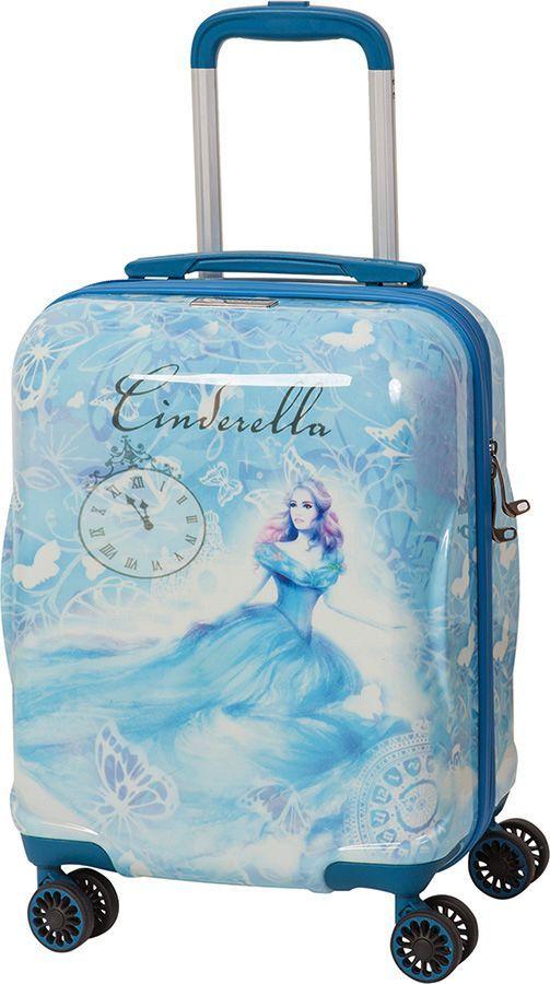 """Чемодан детский Sun Voyage """"Disney. Cinderella"""", 33 л"""