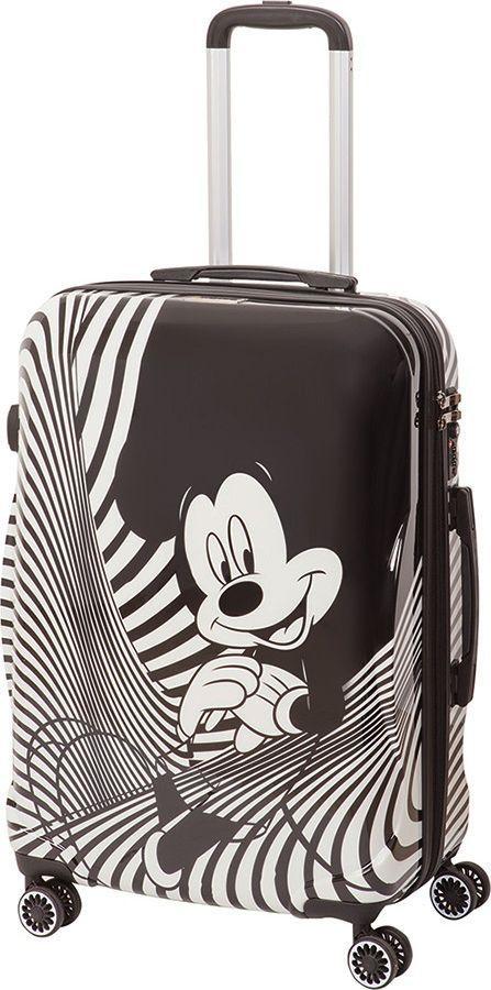 Чемодан детский Sun Voyage Disney. Black&White Micky, 68 л чемодан на колесах серия disney micky&dali 68 л с телескопической ручкой