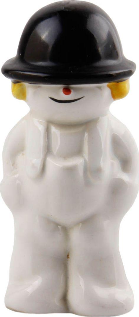 Коллекционная статуэтка Снежный мальчик. Фарфор, ручная роспись. Германия, Goebel, конец XX века год.