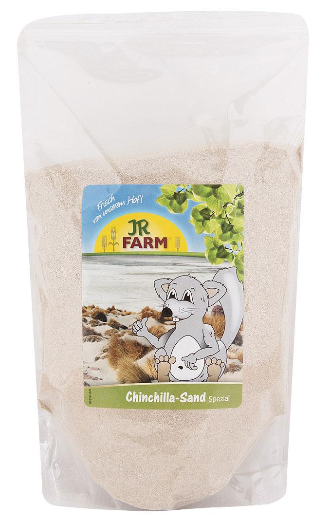 Песок для шиншилл JR Farm, 1 кг камень для шиншилл jr farm жевательный 50 г