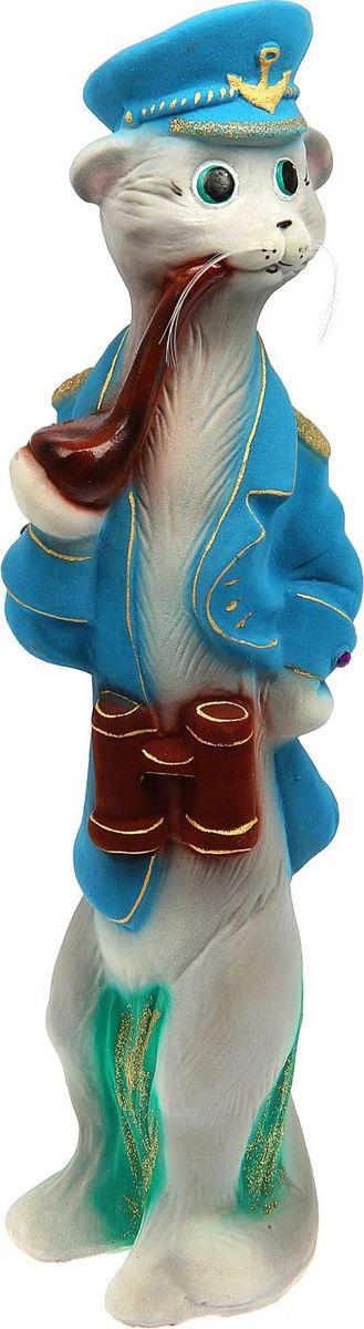 Копилка Керамика ручной работы Кот-капитан, 12 х 15 х 58 см1439642Помните, как порой бывают необходимы не очень большие средства на какое-то нужное и важное дело, но они отсутствуют? Забудьте. В тот момент у вас не было копилки, которая помогла бы в сбережении денег. Изделие в виде котов поспособствует изгнанию злых духов из дома и защищает от сглаза. Кот символизирует домашний уют, тепло семейных отношений, психологический и эмоциональный комфорт.