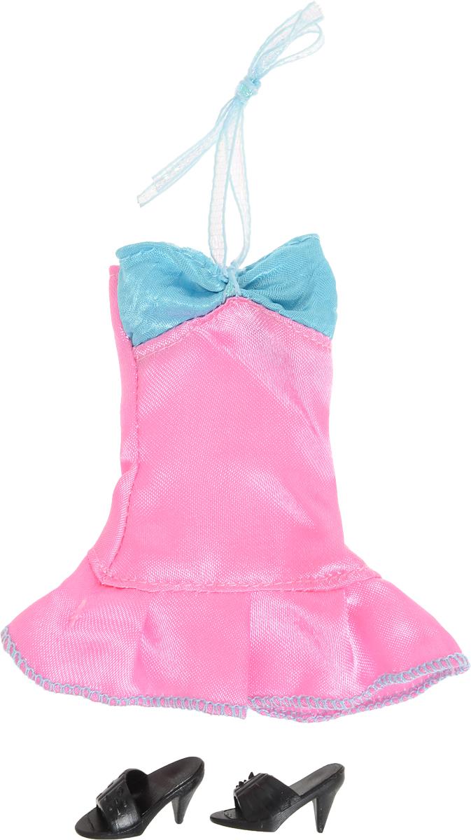 Defa Вечерний наряд для куклы цвет розовый голубой