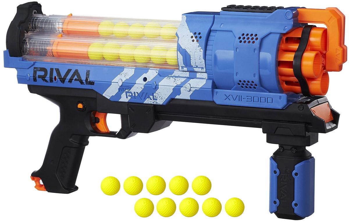 Nerf Rival Бластер Artemis XVII 3000 цвет синий оранжевый - Игрушечное оружие