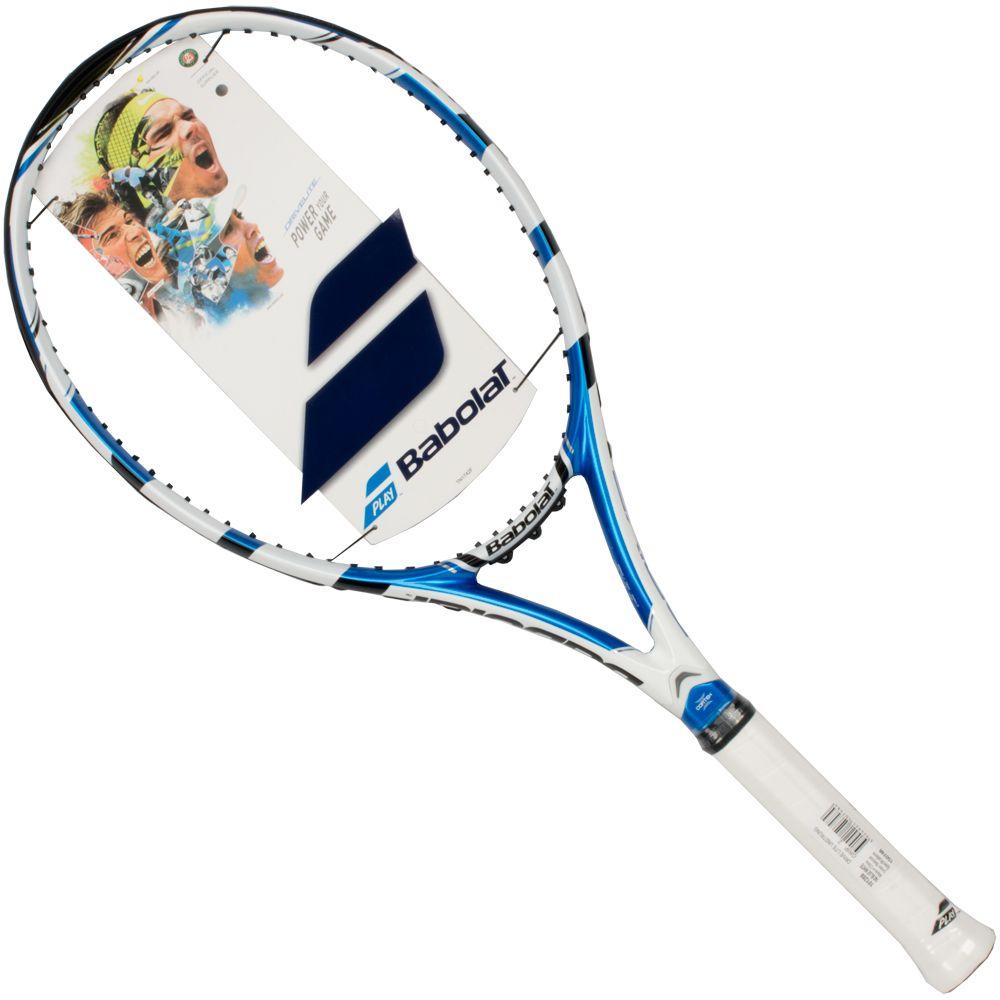 Теннисная ракетка BABOLAT DRIVE LITE, без натяжки, цвет: синий, белый. Размер 2