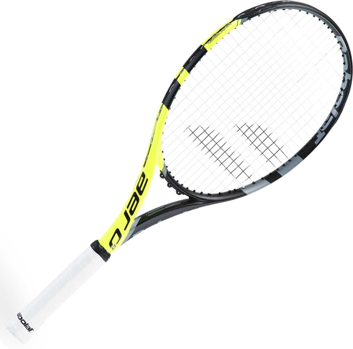 Теннисная ракетка BABOLAT AERO GAMER (Аэро Геймер), с натяжкой, цвет: черный, оранжевый, серый. Размер 3