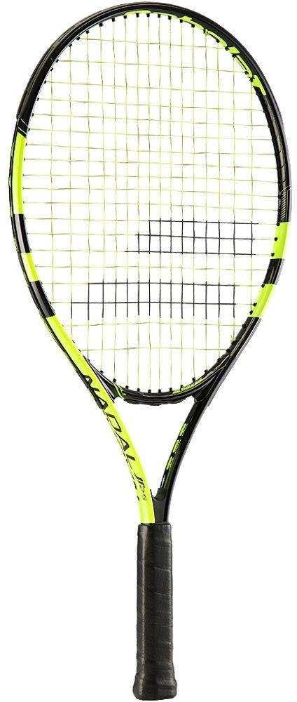 Теннисная ракетка BABOLAT NADAL Junior 25 (Надаль Джуниор 25), цвет: черно-желтый. Размер 0