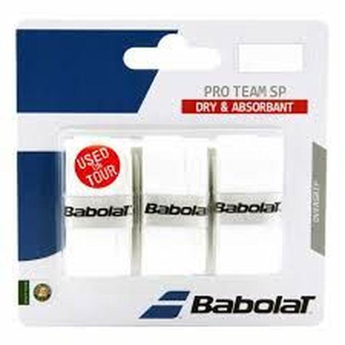 Овергрип Babolat Pro team Sp Overgrip X3, цвет: синий653042Овергрип Babolat Pro team Sp Overgrip X3 изготовлен из полимерных материалов с липкой поверхностью. Уникальная технология поглощения влаги (220%), делает материал мягким и сухим, независимо от степени влажности рук.В комплект входят 3 овергрипа.