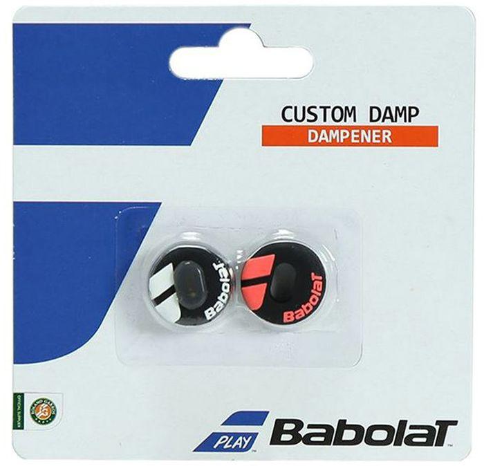 Виброгаситель Babolat Custom Damp Aero, цвет: белый, голубой700040Виброгаситель Babolat Custom Damp Aero надевается на сетку ракетки. 3 виброгасителя в одном: активный О-образной формы и дополнительная вставка. В комплект входят 2 виброгасителя.