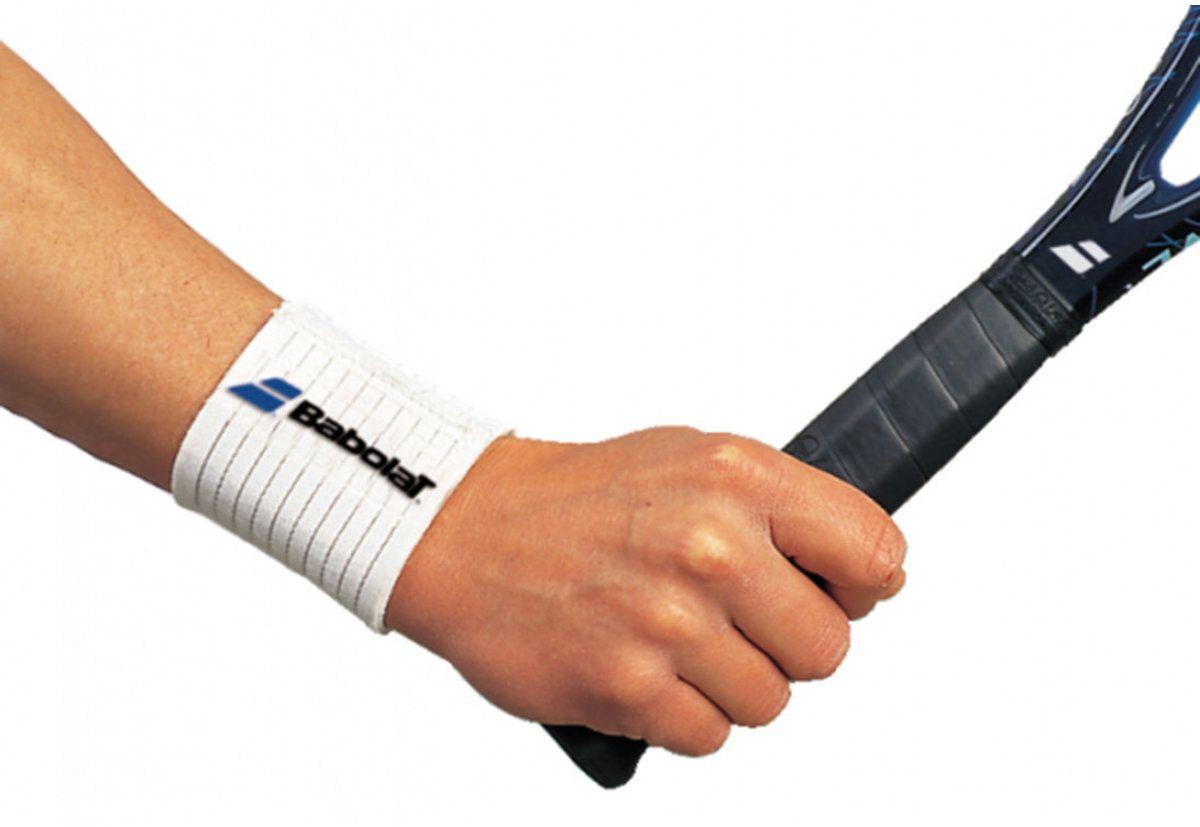 Жесткий эластичный напульсник BABOLAT Strong Wrist (Стронг Врист)720006Предупреждает боли в суставах и сухожилиях.100% неопрен