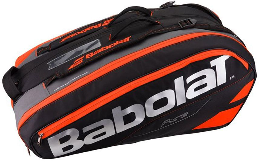 Чехол для теннисных ракеток Babolat  Pure , на 12 ракеток, цвет: красный - Теннис