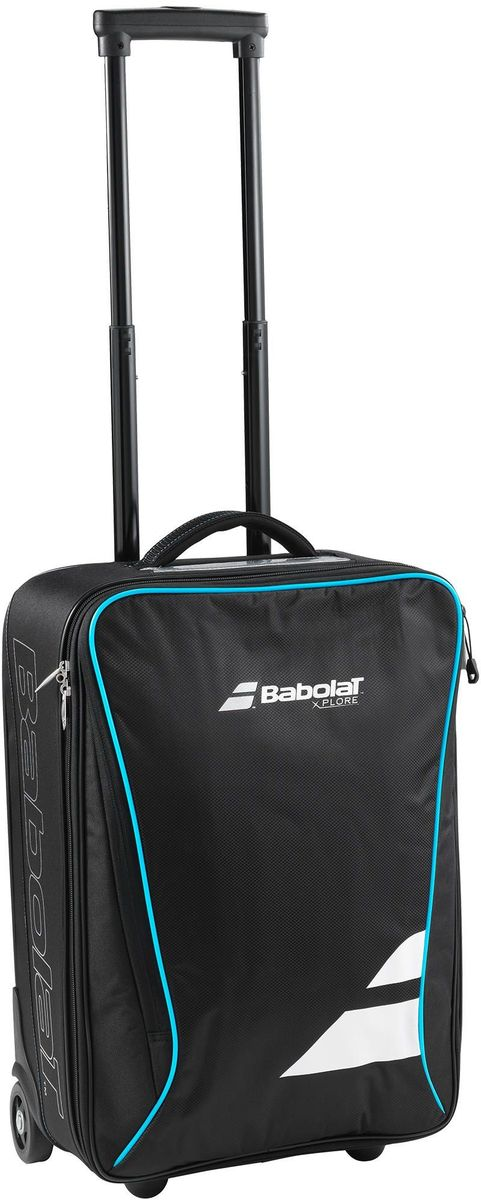 Дорожная сумка Babolat Cabin Xplore752031Дорожная сумка Babolat Cabin Xplore - это необходимый реквизит для комфортабельного перемещения теннисного снаряжения и аксессуаров. Она состоит изодного основного отделенияи одного добавочного.Сумка имеет компактные размеры, ее можно взять в кабину самолета.Изделие застегивается с помощью молнии и имеет удобную пластиковую ручку с регулируемой длиной. Также сумка оснащена колесами ипластиковыми ножками. Вместимость : 30 литров. Размеры : 35 х 55 х 20 см