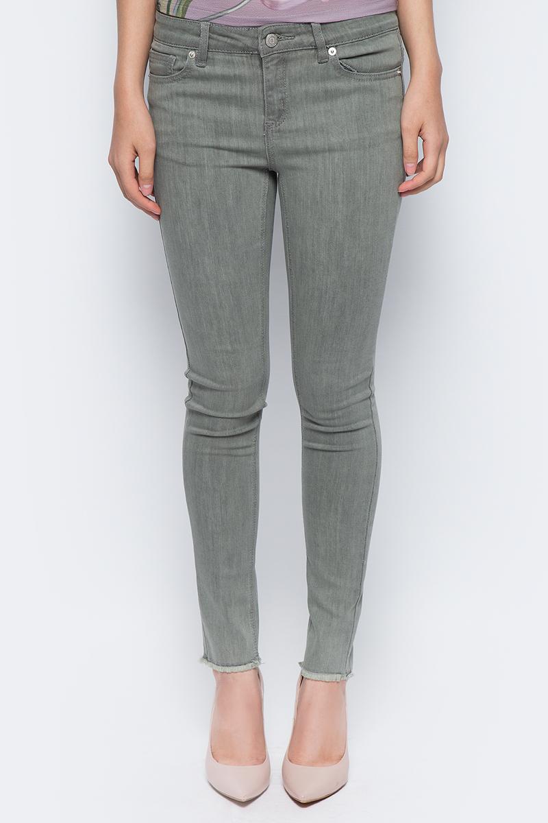 Джинсы женские Sela, цвет: серый хаки. PJ-335/780-7311. Размер 25-32 (40-32) цены онлайн