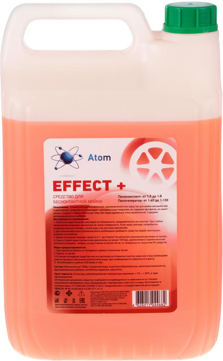 Средство для бесконтактной мойки Atom Effect+, концентрированное, 5 кгAEF-5Средство для бесконтактной мойки Atom Effect+ - уникальное концентрированное щелочное средство для бесконтактной мойки автомобилей идвигателей. Обладает эффектом повышенного пенообразования. Средство неповреждает лакокрасочные покрытия. Несодержит фосфатов. Неимеет запаха. Обладает высокой способностью проникновения вмногослойную грязь иразрушения еебез вреда для лакокрасочной поверхности. Отлично справляется сзагрязнениями втруднодоступных местах (дверные ручки, зазоры между деталями автомобиля, решетка бампера). Создает защитный слой, придающий поверхности автомобиля блеск игрязеотталкивающие свойства. Разбавление водой:- Пенокомплект от1:5 до1:8;- Пеногенератор от1:60 до1:100.Товар сертифицирован.Уважаемые клиенты! Обращаем ваше внимание на то, что упаковка может иметь несколько видов дизайна. Поставка осуществляется в зависимости от наличия на складе.