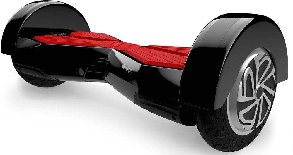 """Гироскутер Hiper ES80 8, цвет: черныйES80BLACKГироскутер HIPER ES80 имеет цельнолитые колеса диаметром 8"""", а за счет LED подсветки корпус гироскутера подсвечивается различными цветами при его движении. Минимально допустимый вес пользователя скутера составляет 20 килограмм, максимальный 120 килограмм. Запас хода 20 км, а время заряда около 2 часов. Гироскутер предназначен для перемещения во время активного отдыха."""
