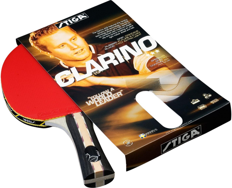 Ракетка для настольного тенниса Stiga Clarino Crystal - Настольный теннис