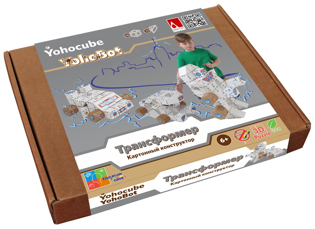 yohocube набор конструктора базовый малый yohocube Yohocube Бумажный конструктор набор Трансформер