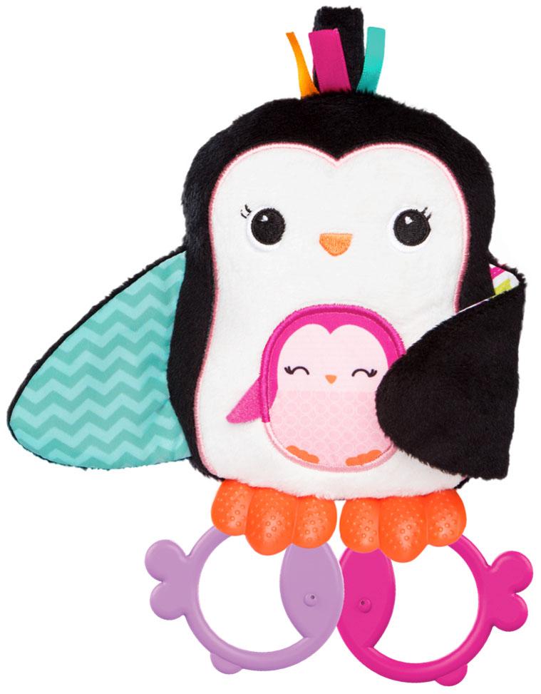 Bright Starts Развивающая игрушка Пингвинчик с прорезываетелями игрушка подвеска bright starts развивающая игрушка щенок