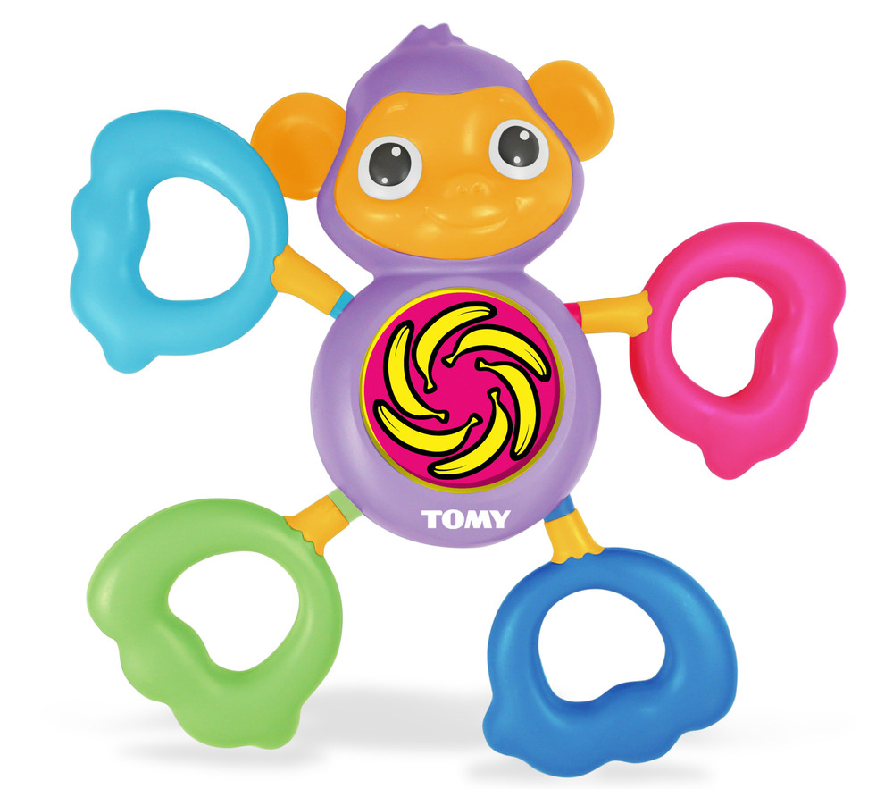 Tomy Развивающая игрушка Музыкальная обезьянка мягкие игрушки tomy музыкальная мягкая игрушка музыкальная коровка