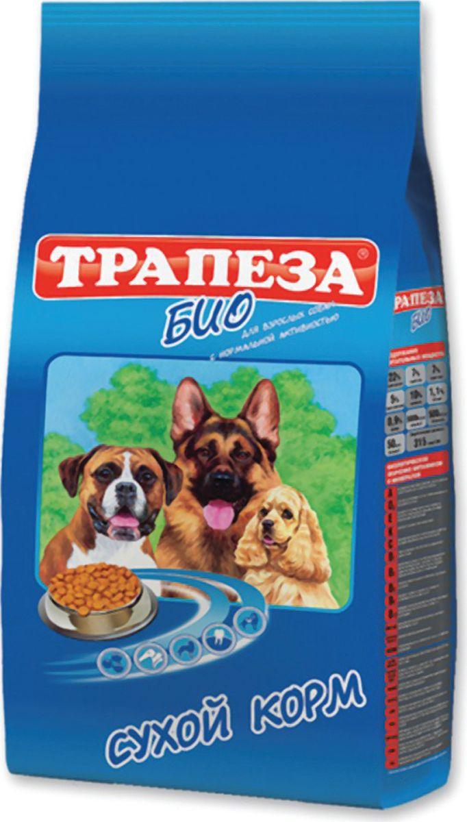 Корм сухой Трапеза Био для взрослых собак всех пород, 2,5 кг201003012Сухой корм Трапеза Био - сбалансированный сухой корм для взрослых собак с нормальной активностью. Разработан с использованием уникальной формулы, которая предусматривает сочетание питательных веществ в правильной пропорции белков, жиров, клетчатки, витаминного и минерального комплекса для собак с нормальной активностью. Сухой корм для собак Трапеза Био при постоянном применении обеспечивает полноценное питание для собак с нормальной активностью на протяжении всей жизни питомца.Специальная форма гранул - разработана с учетом строения челюстей взрослой собаки и позволяет животному в полной мере насладиться своим завтраком, обедом или ужином и не чувствовать после еды дискомфорт в желудке, а так же избежать проблем с пищеварением.Состав: злаки, пшеничные отруби, мясо и продукты животного происхождения (в той частноти говяжья печень), экстракт белка растительного происхождения, гидролизированная печень, минеральные добавки, подсолнечное масло, пульпа сахарной свеклы (жом), витамины, антиоксидант.Анализ: протеин - 22%; жир - 7%; зола - 7%; клетчатка - 5%; влажность - 10%; кальций - 1,1%; фосфор - 0,9%; витамин А 5000 МЕ/кг; витамин D3 500 МЕ/кг; витамин Е 50 мг/кг.Товар сертифицирован.