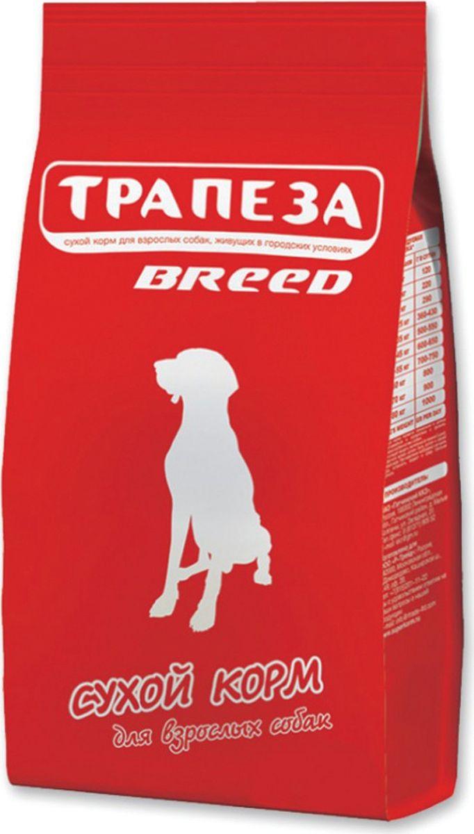 "Корм сухой Трапеза ""Breed"" для взрослых собак, 18 кг"