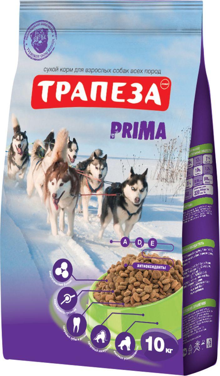 Корм сухой Трапеза Прима для активных собак, 10 кг201003071Корм сухой Трапеза Прима разработан специально для активных собак (содержащихся в вольере, а также в суровых климатических условиях) и имеет в своей основе три источника полноценного животного протеина: мясо, рыбу и курицу.Корм сбалансирован по уровню содержания ненасыщенных жирных кислот ОМЕГА-6 и ОМЕГА-3, их оптимальное соотношение (5:1) достигается сочетанием говяжьего, куриного и рыбьего жира, а также введением льняного масла. Высококачественные жиры, стабилизированные витаминами Е и С способствуют образованию и поддержанию отличного шерстного покрова, повышают иммунитет, обеспечивают организм вашей собаки необходимой энергией.Состав: говядина, мясо домашней птицы, мясные субпродукты, злаковые культуры, животные и растительные жиры, масла, витамины, минеральные вещества, микроэлементы.Товар сертифицирован.