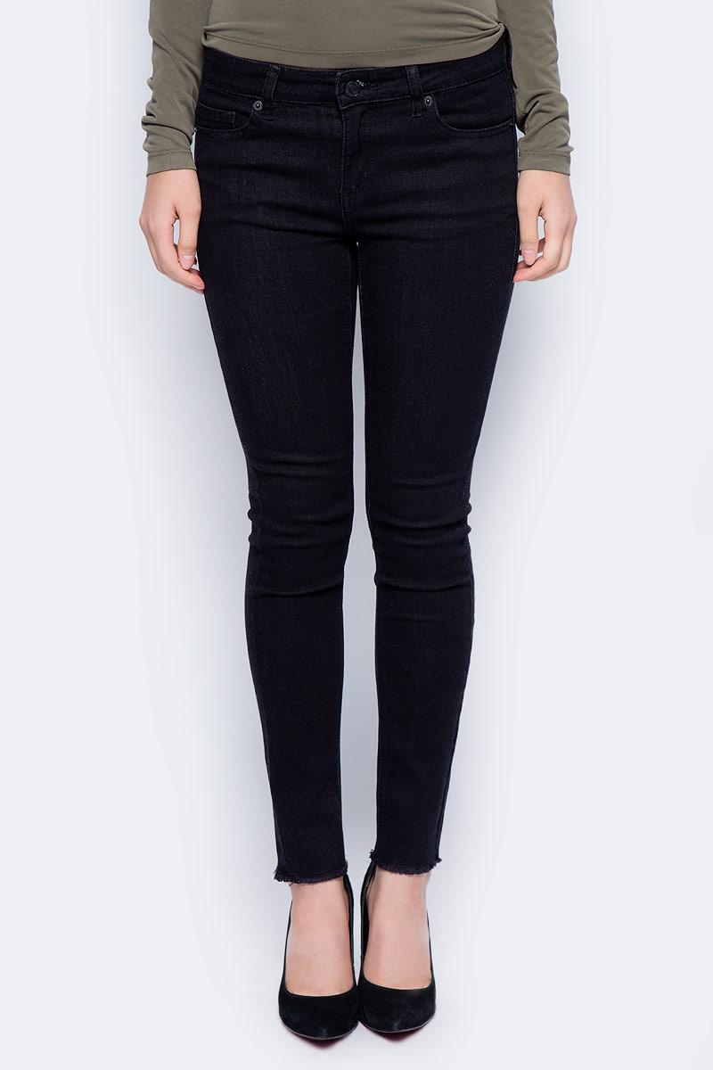 Купить Джинсы женские Sela, цвет: черный. PJ-335/780-7311. Размер 26-32 (42-32)