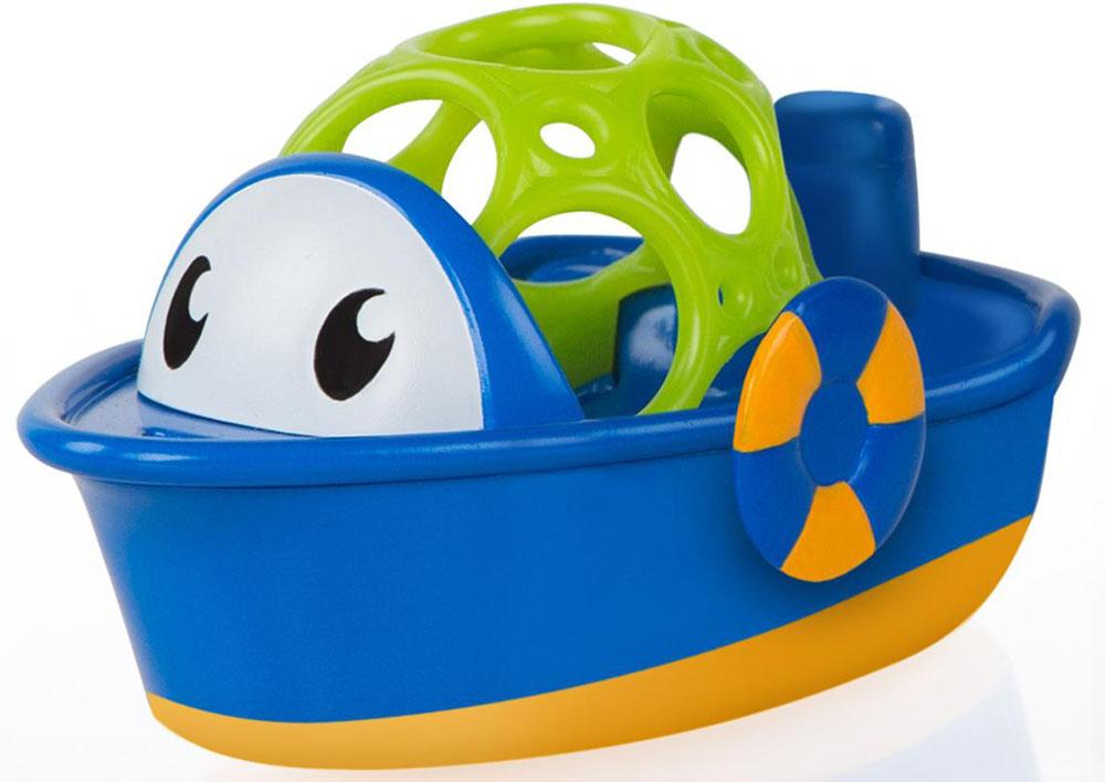 Oball Игрушка для ванной Лодочка цвет синий стоимость