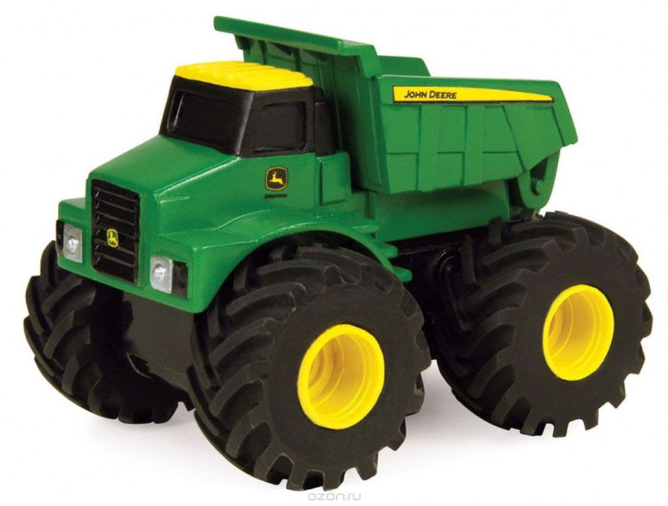 Tomy Машинка Самосвал реверсивный Monster Treads машины tomy машинка реверсивная mоnster treads john deere 10 см