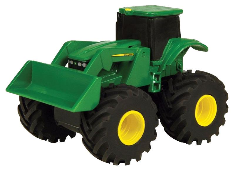 Tomy Трактор реверсивный John Deere машины tomy трактор john deere monster treads с большими резиновыми колесами