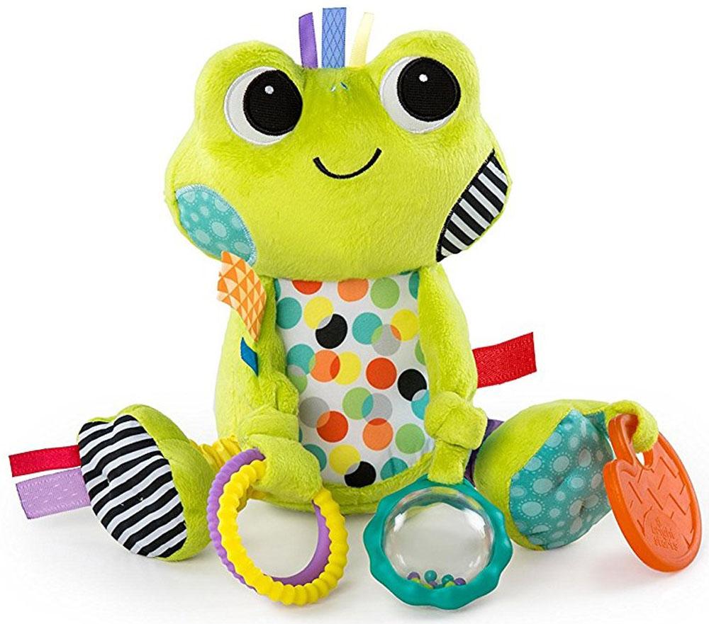 Bright Starts Развивающая игрушка Море удовольствия Лягушонок прорезыватель bright starts динозаврик желтый 52029 2