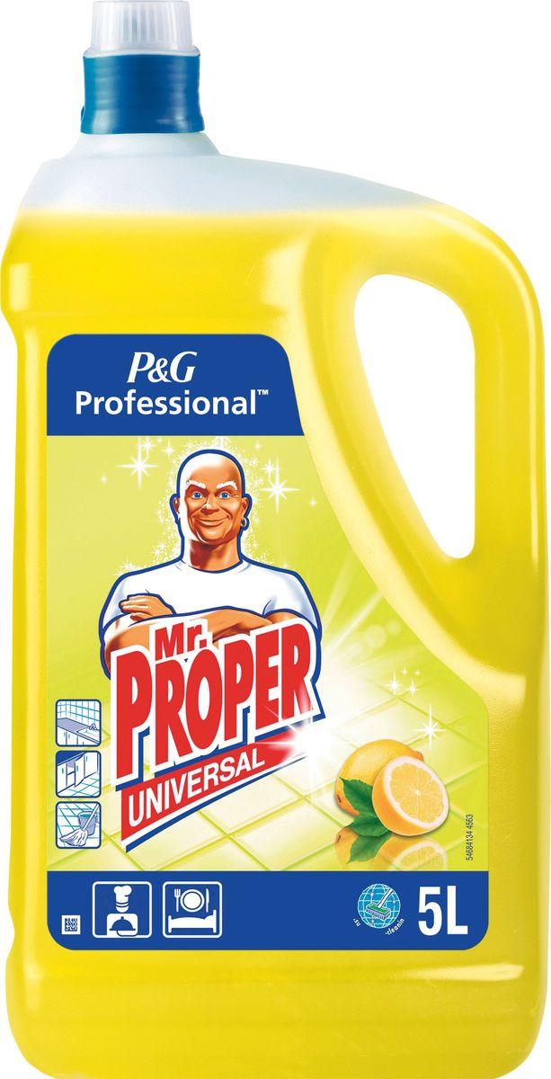 """Средство моющее """"Mr. Proper"""", универсальное, с ароматом лимона, 5 л"""