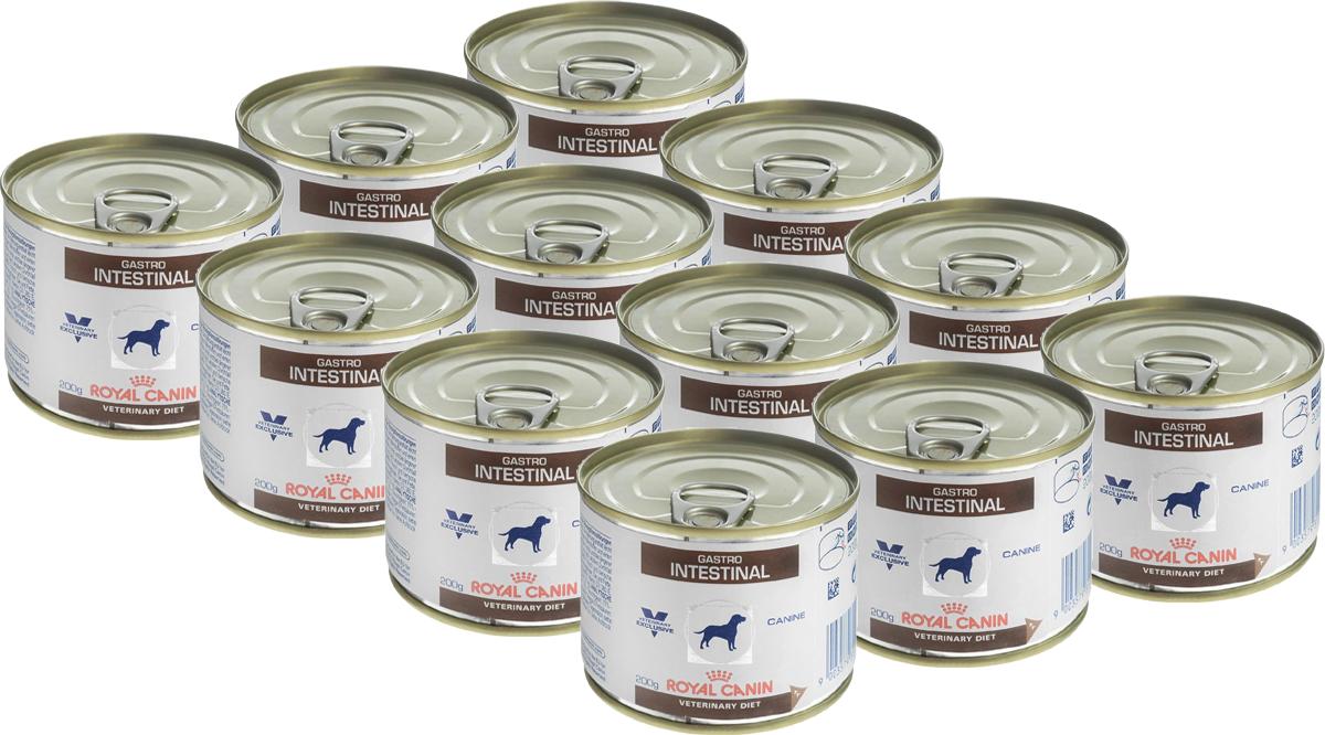 Консервы для собак Royal Canin Gastro Intestinal, при нарушениях пищеварения, 200 г, 12 шт61356Консервы Royal Canin GastroIntestinal - это полнорационный диетическийкорм для собак, рекомендуемый при острыхрасстройствах пищеварения, вреабилитационный период и при истощении.Показания к применению: - Острая и хроническая диарея. - Хроническое воспаление кишечника. - Плохая переваримость и абсорбцияпитательных веществ. - Восстановительный период после болезни.- Пролиферация бактерий в тонком кишечнике.- Экзокринная недостаточность поджелудочнойжелезы. - Колит. - Гастрит. - Анорексия. Сочетание высококачественных белков с высокойстепенью усвояемости, пребиотиков(маннановые олигосахариды), клетчатки ирыбьего жира обеспечивает максимальнуюбезопасность пищеварения. Повышенноесодержание энергии соответствуетэнергетическим потребностям собаки, позволяетограничить объем корма и снизить нагрузку нажелудочно-кишечный тракт, также помогаетвосстановить вес в период выздоровления.Эйкозапентаеновая и докозагексаеноваякислоты, длинноцепочечные жирные кислотыОмега 3 способствуют поддержанию здоровьяпищеварительной системы. Комплексантиоксидантов синергичного действияснижает уровень окислительного стресса иборется со свободными радикалами. Состав: свинина и мясо птицы, лосось, рис,растительная клетчатка, подсолнечное масло,минеральные вещества, желирующие вещества,таурин, рыбий жир, экстракт дрожжей (источникманнановых олигосахаридов), экстракт бархатцевпрямостоячих (источник лютеина),микроэлементы (в т. ч. в хелатной форме),витамины.Добавки на 1 кг: витамин D3 - 380 МЕ, железо - 7мг, йод - 0,35 мг, медь - 3 мг, марганец - 2 мг,цинк - 21 мг.Питательные вещества на 100 г: белки 8,5%,жиры 6,5%, углеводы 6,1%, клетчатка пищевая1,5%, влажность 75%, минеральные вещества2%. Энергетическая ценность на 1 кг: 1088 ккал. В упаковке 12 банок по 200 г. Товар сертифицирован.