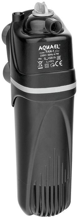 Фильтр для аквариума Aquael Fan Filter. 1 Plus, 60 - 100 л, 320 л/ч102368Фильтр Aquael Fan Filter. 1 Plus - предназначен для очищения и аэрации воды в аквариумах. Благодаря губке, расположенной на перфорированном стержне, он устойчив к загрязнениям и не требует частой очистки. Пластиковый префильтр задерживает крупные частицы, что гарантирует эффективную фильтрацию воды в аквариуме в течение продолжительного времени. Фильтр прост в установке и эксплуатации. Герметичная роторная камера гарантирует бесшумную работу и высокую эффективность при относительно низком энергопотреблении. Ручка регулировки производительности может быть расположена над поверхностью воды, что избавит вас от необходимости погружать руку целиком под воду. Для аквариума объемом: 60 - 100 л.Мощность: 4,7 Вт.Макс.производительность: 320 л/ч.Для пресноводных аквариумов.