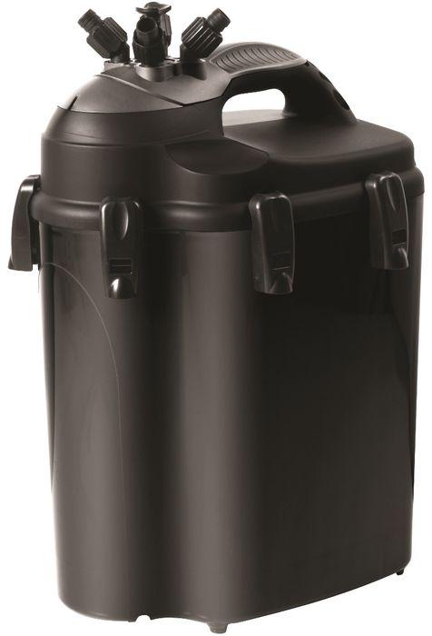 Фильтр для аквариума Aquael Unimax 700, внешний, 500 - 700 л, 1700 л/ч103109Внешний фильтр для аквариума Aquael Unimax 700 сочетает в себе высокую производительность и большой объем фильтрационного материала. Благодаря встроенной системе откачки воздуха из канистры и наличию эластичных впускных трубок, фильтр автоматически заполняется водой. Подобный механизм очень удобен для пользователей, ведь в данном случае отсутствует необходимость заполнять фильтр водой вручную. Благодаря системе By-Pass фильтр прост в обслуживании - он оборудован поворотным механизмом с функцией AquaStop, который позволяет забирать канистру на чистку без демонтажа шлангов. Фильтр Unimax 700 оснащён дождевателем, размещение которого над поверхностью воды дополнительно увеличивает поверхность контакта воды, выходящей из фильтра, с воздухом, благодаря чему она насыщается кислородом. Для аквариума объемом: 500 - 700 л.Мощность: 38 Вт.Макс.производительность фильтра: 1700 л/ч.5 корзин по 3 л с наполнителями: первая корзина с губками (3 шт),вторая корзина с губками (3 шт),третья корзина с биошарами,четвертая корзина с цеолитом + губкой (1 шт),пятая корзина с керамикой.Шланг в комплекте: 8 м.Внутренний / внешний диаметр шланга: 16 / 22 мм.Для пресноводных, морских аквариумов.