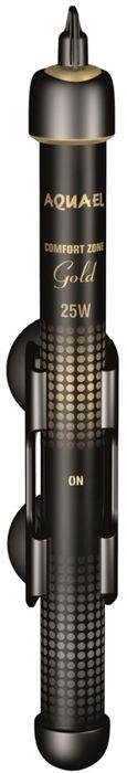 Обогреватель для аквариума Aquael Comfort Zone Gold, 25 W обогреватель для аквариума barbus hl 25w стеклянный с терморегулятором 25 вт