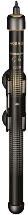 Обогреватель для аквариума Aquael Comfort Zone Gold, 200 W111141ОбогревательAquael Comfort Zone Gold - стеклянный обогреватель для аквариума с позолоченными контактами. Позолоченные контакты защищены от окисления, что значительно увеличивает срок службы изделия.Электронное реле, которым оборудован обогреватель, обеспечивает точную температуру в аквариуме. Плавная регулировка температуры в широком диапазоне позволит вам установить оптимальный температурный режим для обитателей вашего аквариума. Светодиодный индикатор позволяет легко отследить работу обогревателя. Обогреватель Comfort Zone Gold подходит для использования как в пресноводных, так и в морских аквариумах. Объем аквариума : 130 - 200 л. Стеклянный обогреватель с термостатом.Диапазон температур от 19 до 32 C.