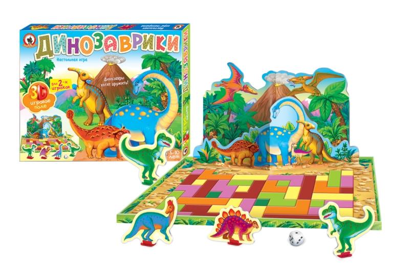 Русский стиль Обучающая игра Динозаврики
