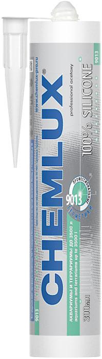 Клей силиконовый Chemlux 9013, для аквариума, цвет: прозрачный, до 3500 л550200Chemlux 9013 - профессиональный однокомпонентный силиконовый герметик для аквариумных работ.Chemlux 9013 - готовый к применению однокомпонентный низкомодульный силиконовый герметик кислотной вулканизации промышленного назначения, предназначенный для сборки аквариумов и террариумов объёмом до 3.500 л. Отверждается при комнатной температуре под воздействием влажности воздуха, создавая постоянно эластичный слой силикона. Область применения:-герметизация соединений, подвергающихся большим механическим нагрузкам, герметизация соединений, нуждающихся в быстром приобретении механической прочности; -герметизация соединений при сборке аквариумов и террариумов объёмом до 3,5 т, при этом толщина шва должна быть не менее 1 мм, а температура воздуха при отверждении герметика - от +15 градусов Цельсия до +40 градусов Цельсия; -герметизация при возведении силосных башен и производства контейнеров; -герметизация при проведении остекления и других общестроительных работ. Рекомендуется применение герметика со следующими материалами: стеклом, керамической плиткой, изделиями из алюминия, нержавеющей стали, дерева и других коррозионностойких материалов, множеством видов пластиков и большинством окрашенных поверхностей.