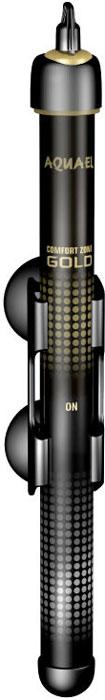 Обогреватель для аквариума Aquael Comfort Zone Gold, 75 W обогреватель aquael gold 100w 27 3см на 50 100л с терморегулятором