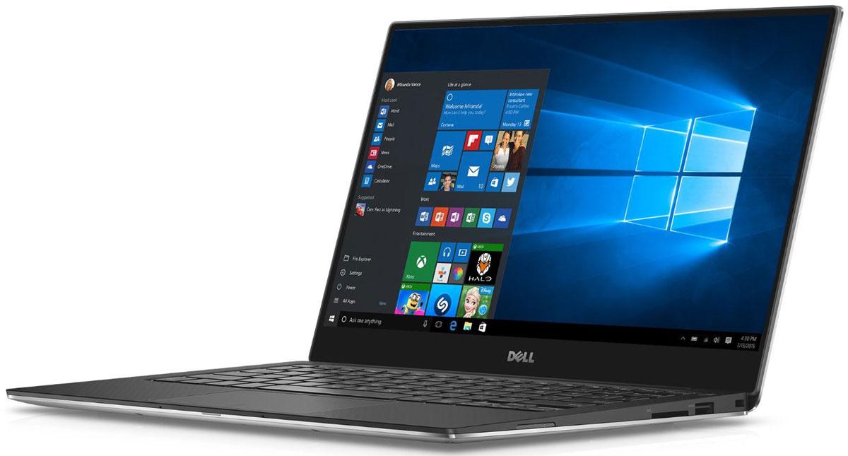 Dell XPS 13 9360-9999, Silver9360-9999Dell XPS 13 - компактный и стильный ноутбук с безрамочным дисплеем.Тонкая лицевая панель монитора увеличивает пространство экрана в этой инновационной конструкции. Трехсторонний, практически безграничный дисплей обладает миниатюрной рамкой шириной всего 5,2 мм - это самая тонкая среди рамок ноутбуков. Благодаря тонкой панели шириной менее 2% от общей поверхности дисплея экран становится значительно больше. Четкое изображение обеспечивается при просмотре практически под любым углом благодаря панели IPS, обеспечивающей широкий угол обзора до 170°.Новый процессор Intel Core i5 обеспечивает высокую скорость запуска, четкость и усовершенствованную графику. Загрузка и возобновление XPS 13 выполняются за считанные секунды благодаря стандартному твердотельному накопителю и технологии Intel Rapid Start.Используйте жесты уменьшения, масштабирования и нажатия с высокой степенью точности: усовершенствованная сенсорная панель обеспечивает точность действий каждый раз, без прыжков и колебаний курсора. Он обеспечивает плавную и быструю горизонтальную прокрутку, уменьшение и увеличение изображения как у сенсорного экрана, с помощью жестов, похожих на те, которые вы использовали на обычном экране. Благодаря функции предотвращения случайной активации больше не будет случайных щелчков при касании сенсорной панели ладонью.Конструкция из механически обработанного алюминия означает, что XPS 13 точно вырезан из единого алюминиевого блока, что обеспечивает прочность и долговечность корпуса. За счет беспрецедентно эффективного потребления электроэнергии этот ноутбук обладает сертификацией ENERGY STAR 6.0. созданный с заботой об окружающей среде, XPS 13 не содержит такие материалы, как свинец, ртуть и некоторые фталаты. Самый экологичный ноутбук в семействе XPS, он также обладает сертификацией EPEAT SILVER и не содержит ПВХ и бромсодержащего антипирена.Точные характеристики зависят от модели.Ноутбук сертифицирован EAC и имеет русифицированную клавиатуру 