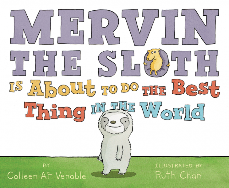 Mervin the Sloth Is About to Do the Best Thing in the World about you кардиган